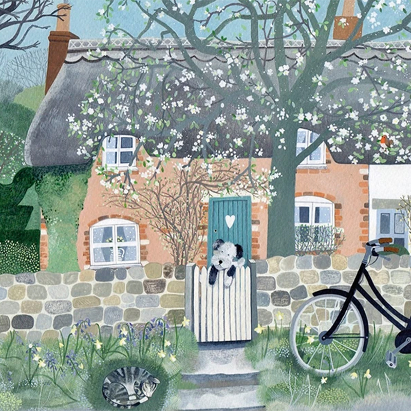 Picture of 'At The Garden Gate' by Mani Parkes