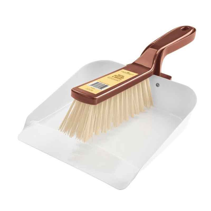 Picture of Groundsman Metal Dustpan & Brush Set
