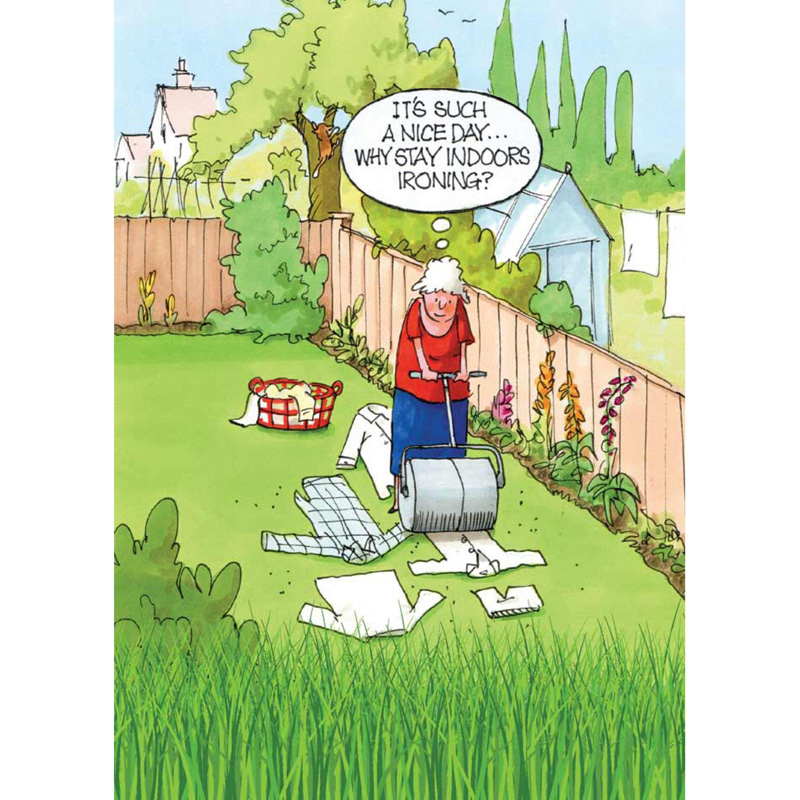 Picture of Gardeners Weakly Ironing Card