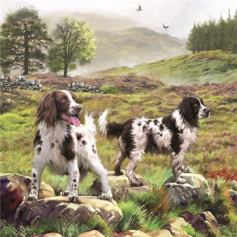 Picture of Otter House Ltd 'Spaniels on the Moor' 1000 Piece Jigsaw