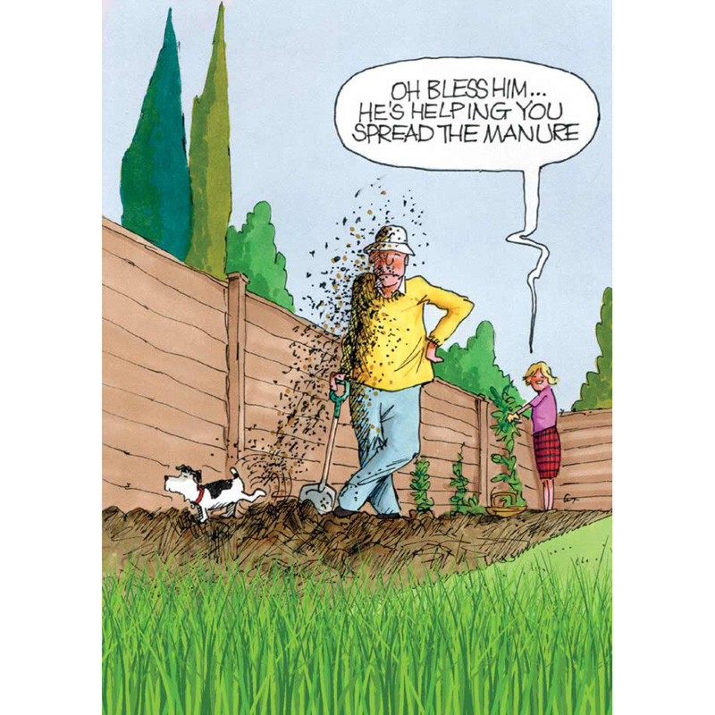 Picture of Gardeners Weakly 'Spread the Manure' Card