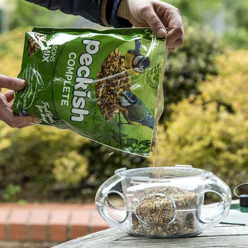 Picture of Peckish Small Bird Seed Feeder