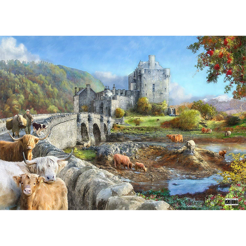 Picture of House of Puzzles 'Highland Morning' Jigsaw