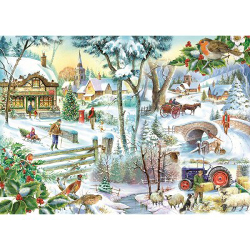 Picture of House of Puzzles 'Winter Wonderland' Jigsaw