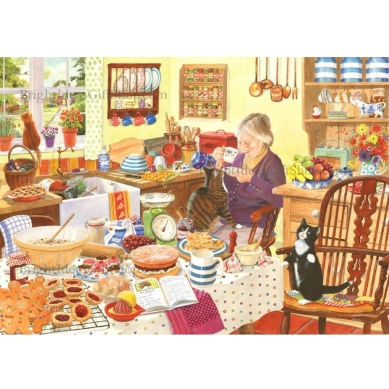 Picture of House of Puzzles 'Sugar & Spice' Jigsaw