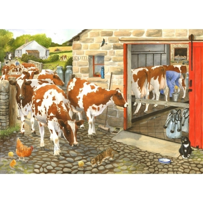 Picture of House of Puzzles 'Dairy Maids' Jigsaw