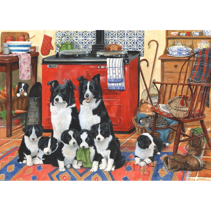 Picture of House of Puzzles 'Meet The Family' Jigsaw