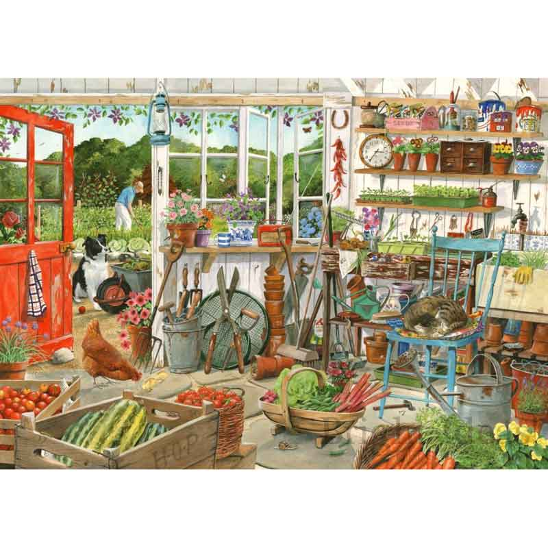 Picture of House of Puzzles 'Potting Shed' Jigsaw