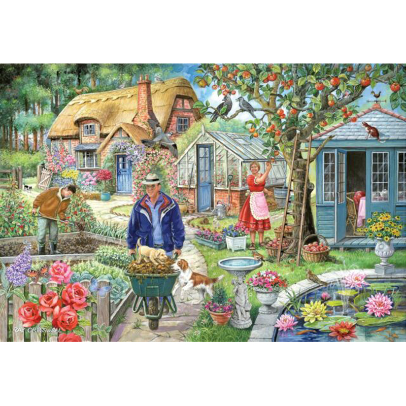 Picture of House of Puzzles 'In The Garden' Jigsaw