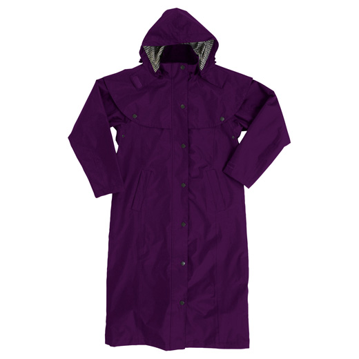 Picture of Tayberry Bramble Long Waterproof Cape Coat