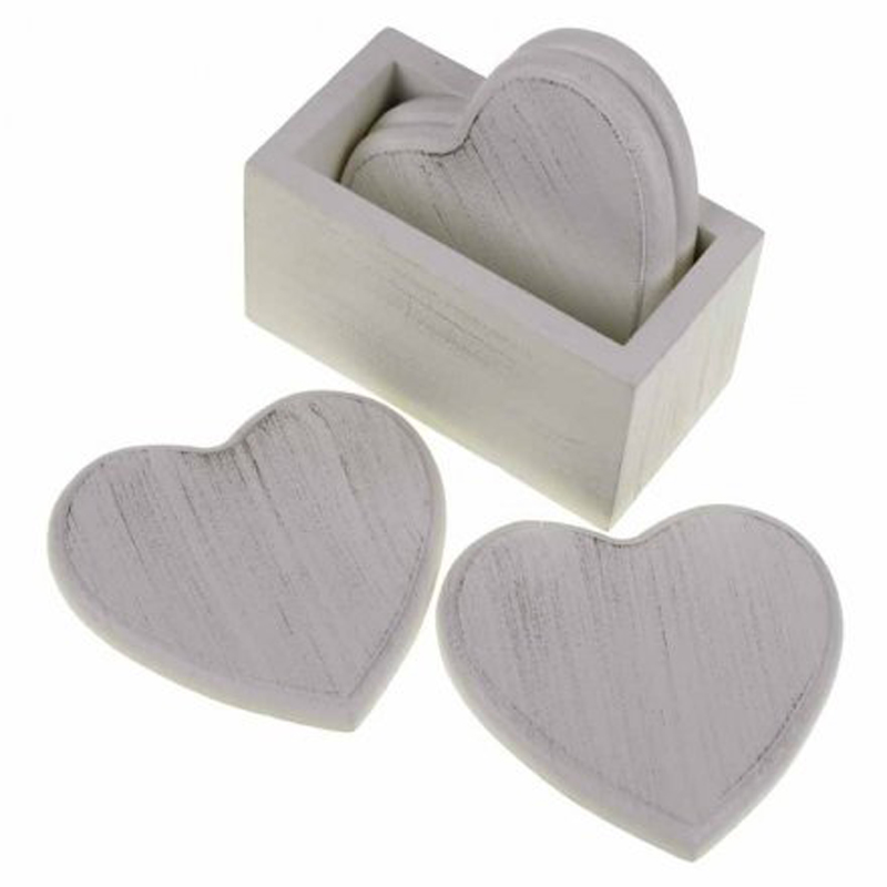 Picture of Heart Coaster Set in Holster