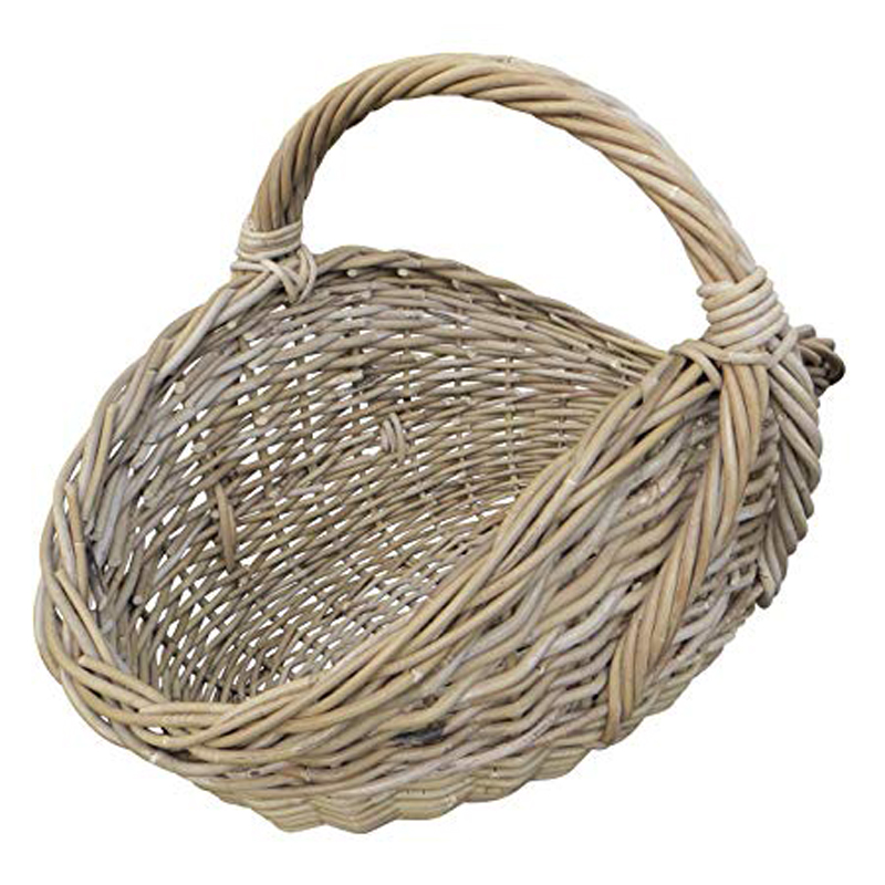 Picture of Glenweave Oval Potato Basket with Hoop Handle