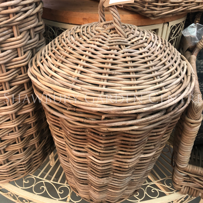 Picture of Glenweave Round Laundry Basket with Lid
