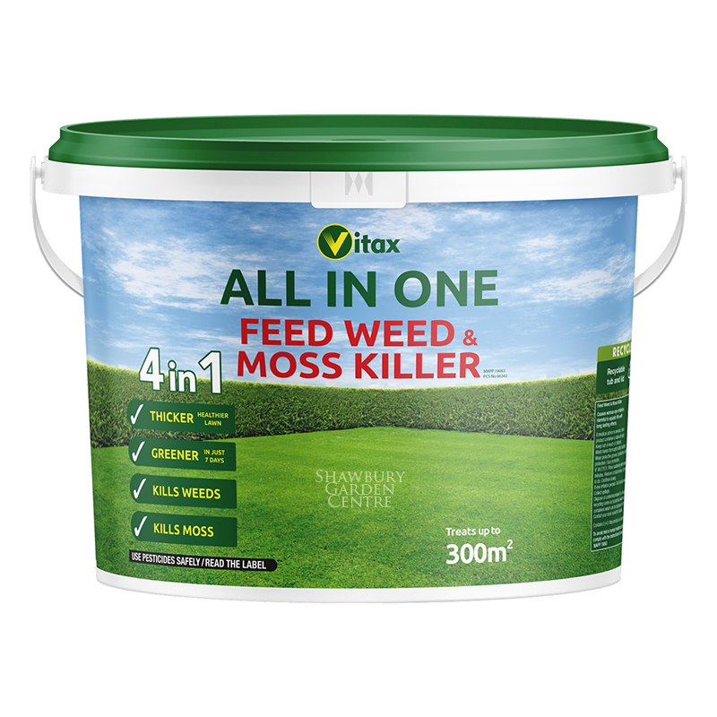 Picture of Vitax All in One Feed, Weed & Moss Killer