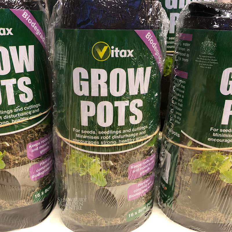 Picture of Vitax Grow Pots