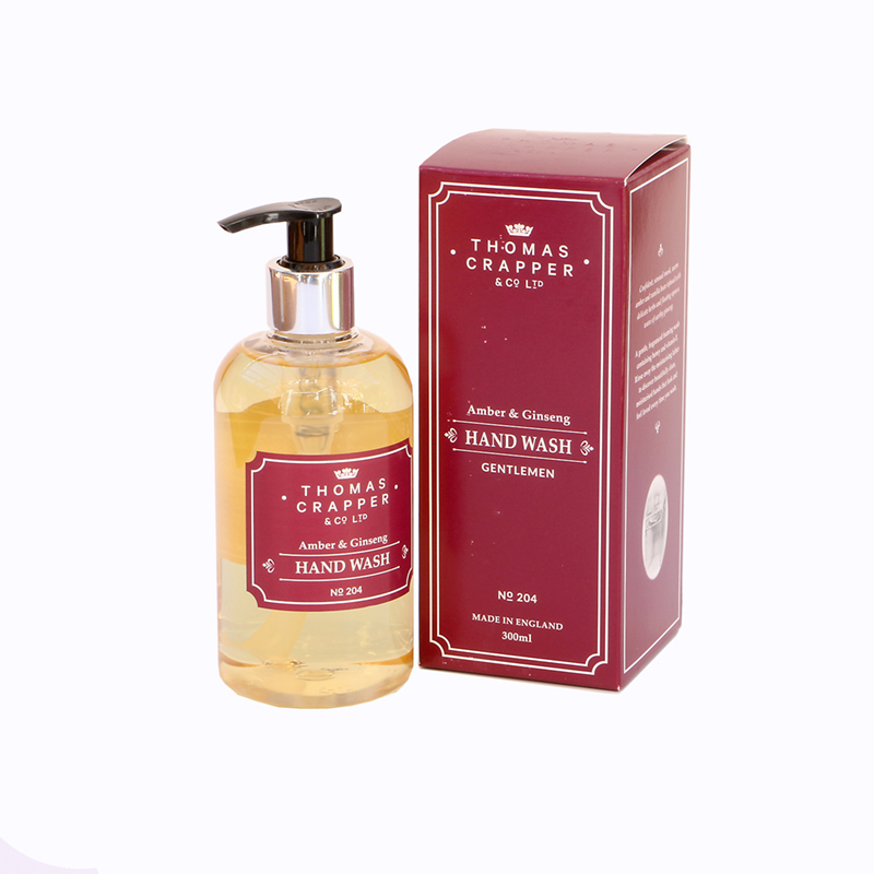 Picture of Thomas Crapper AMBER & GINSENG Hand Wash