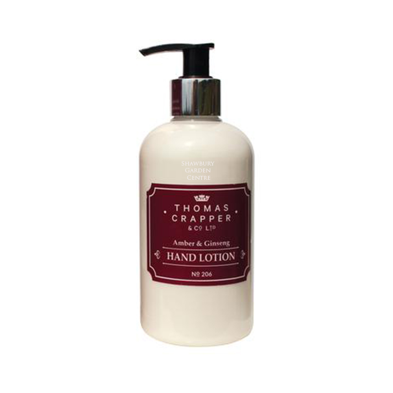 Picture of Thomas Crapper AMBER & GINSENG Hand Lotion