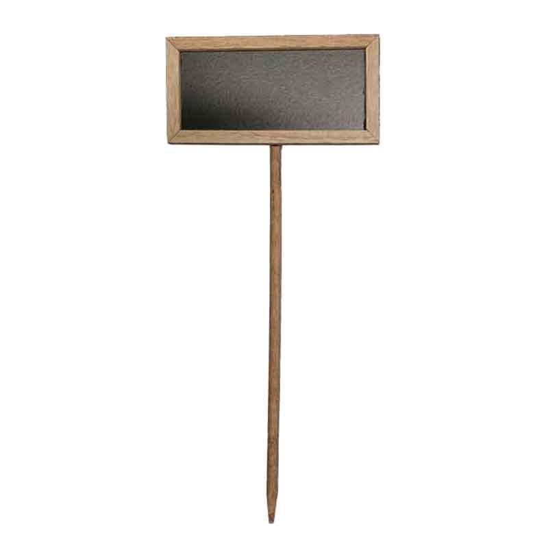 Picture of Wooden Frame Chalkboard on Stake