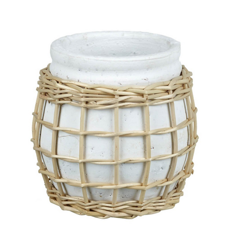 Picture of Parlane ADALYN Planter with Rattan Outer