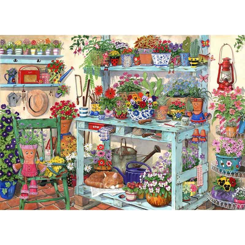 Picture of House of Puzzles 'Going Potty' Jigsaw