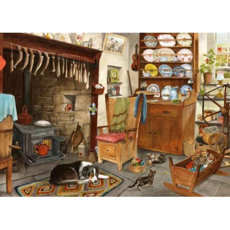 Picture of House of Puzzles 'Fisherman's Cottage' Big 500 Jigsaw
