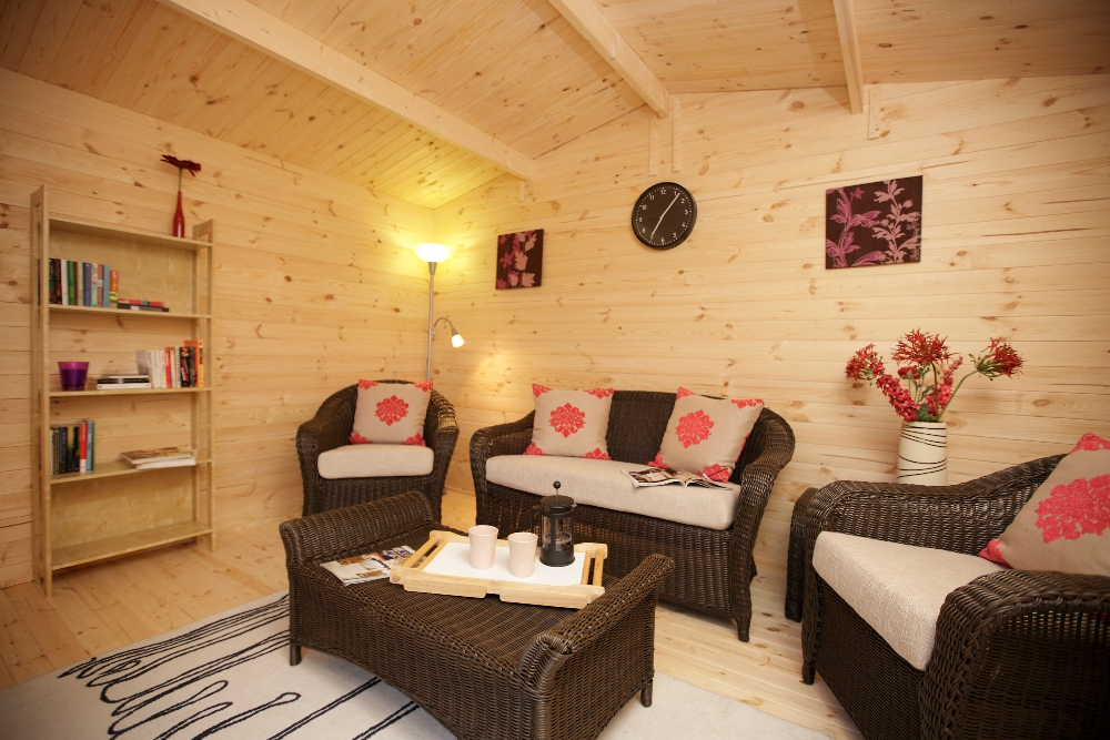 Picture of Forest Garden Buxton Log Cabin