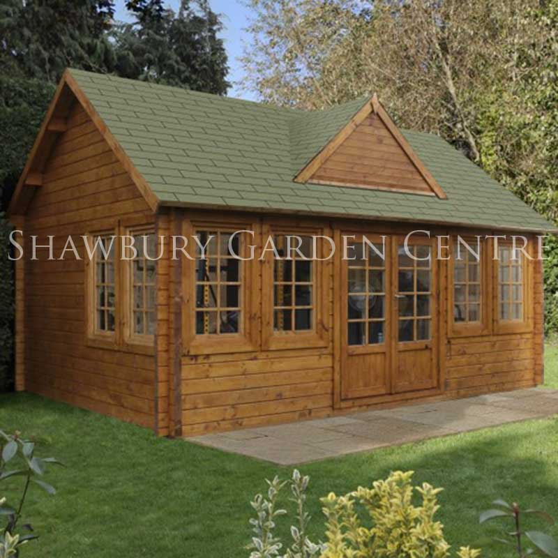 Picture of Forest Garden Cheviot Log Cabin