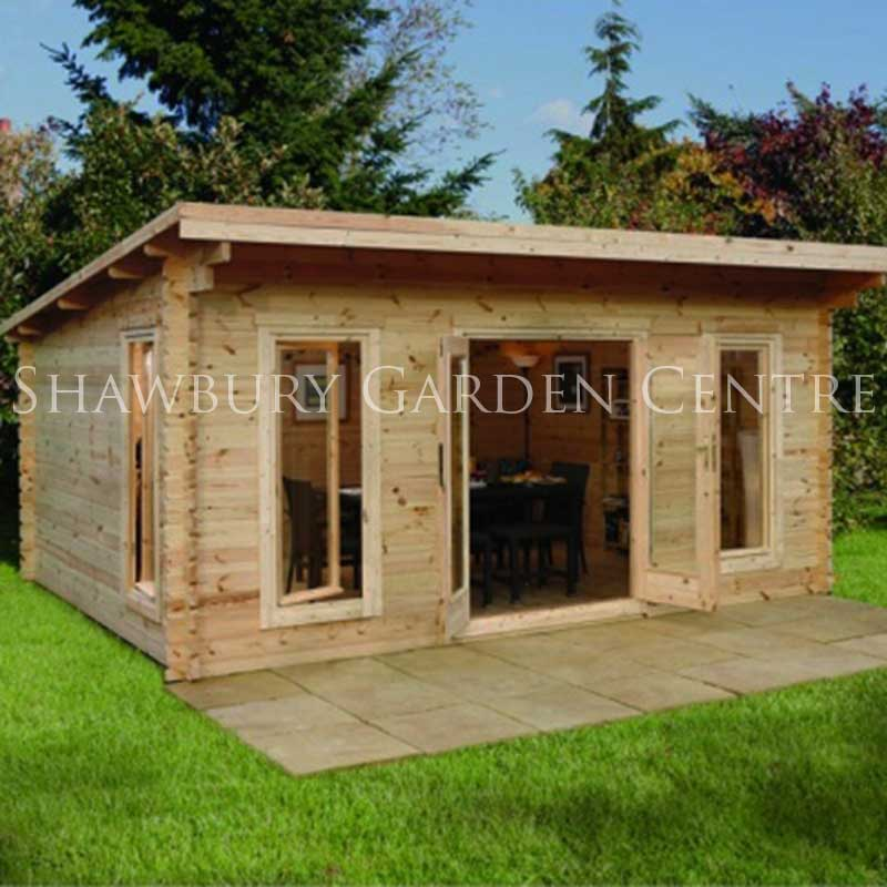 Picture of Forest Garden Mendip Log Cabin