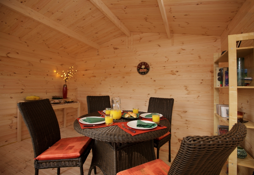 Picture of Forest Garden Nevis Log Cabin