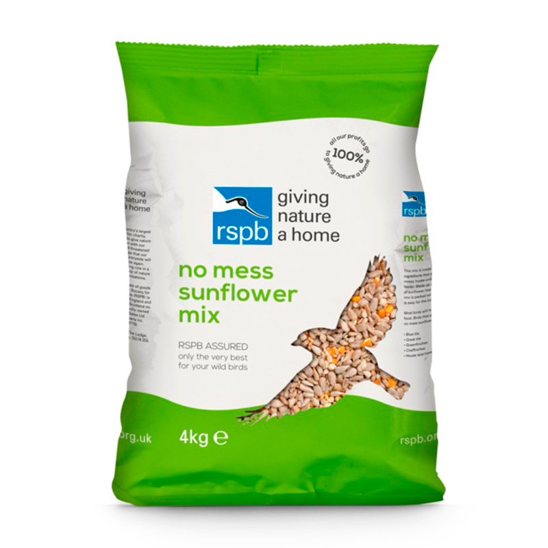 Picture of RSPB No Mess Sunflower Mix