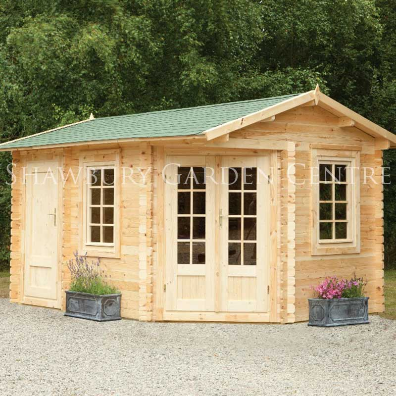 Picture of Forest Garden Pickering Log Cabin inc Assembly