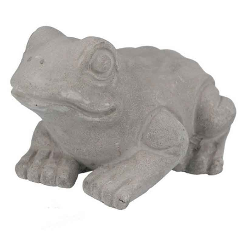 Picture of Gisela Graham Concrete Frog Ornament