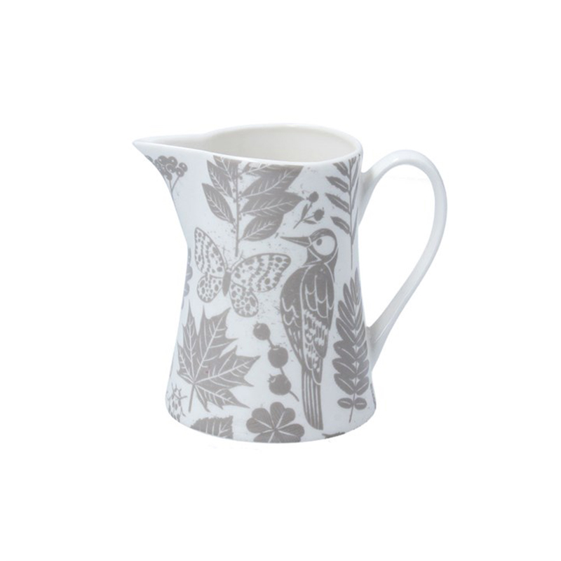Picture of Gisela Graham Grey Garden Study Jug