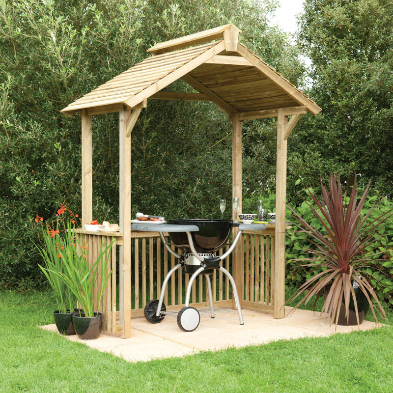 Picture of Forest Garden Garden/ BBQ Shelter