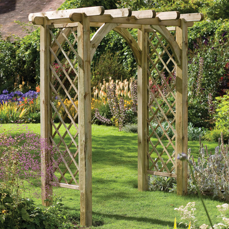Picture of Forest Garden Ultima Pergola Arch