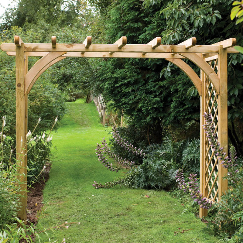 Picture of Forest Garden Large Ultima Pergola Arch