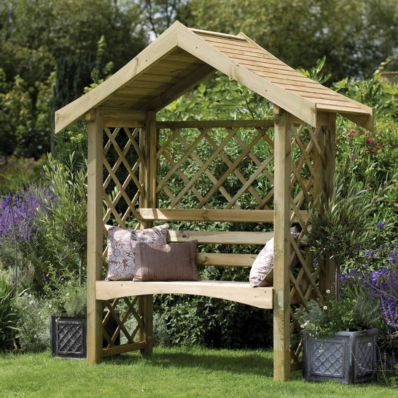 Picture of Forest Garden Sienna Arbour