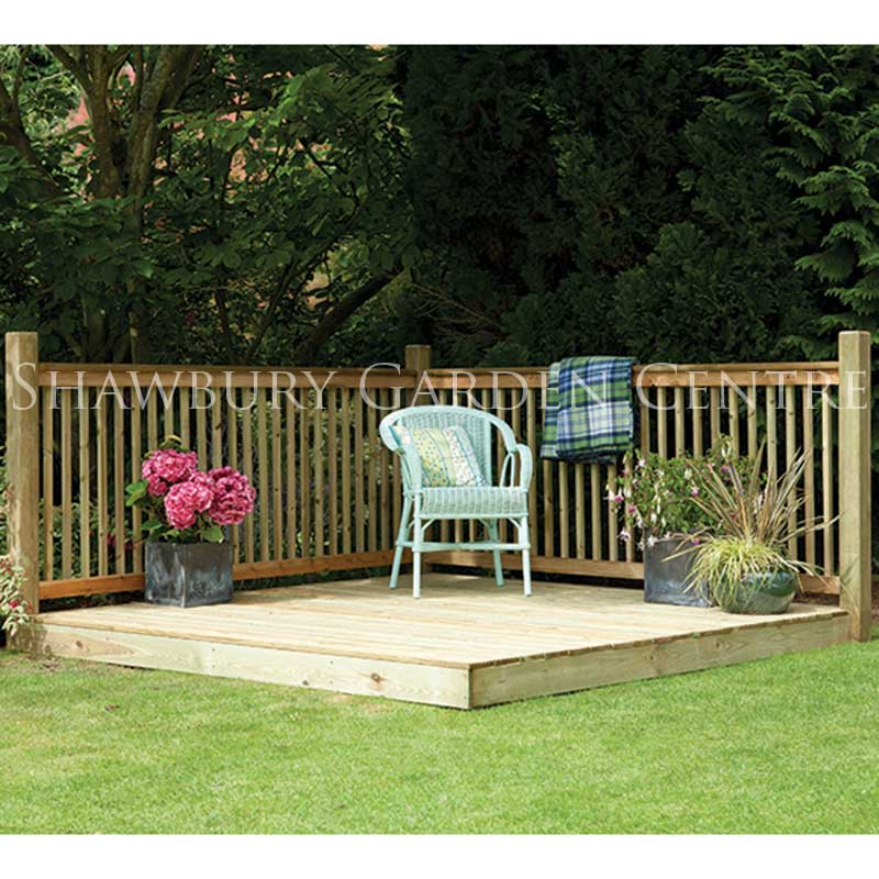Picture of Forest Garden Patio Deck Kit