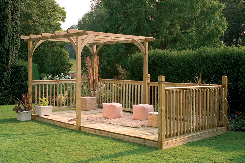 Picture of Forest Garden Ultima Pergola Deck Kit