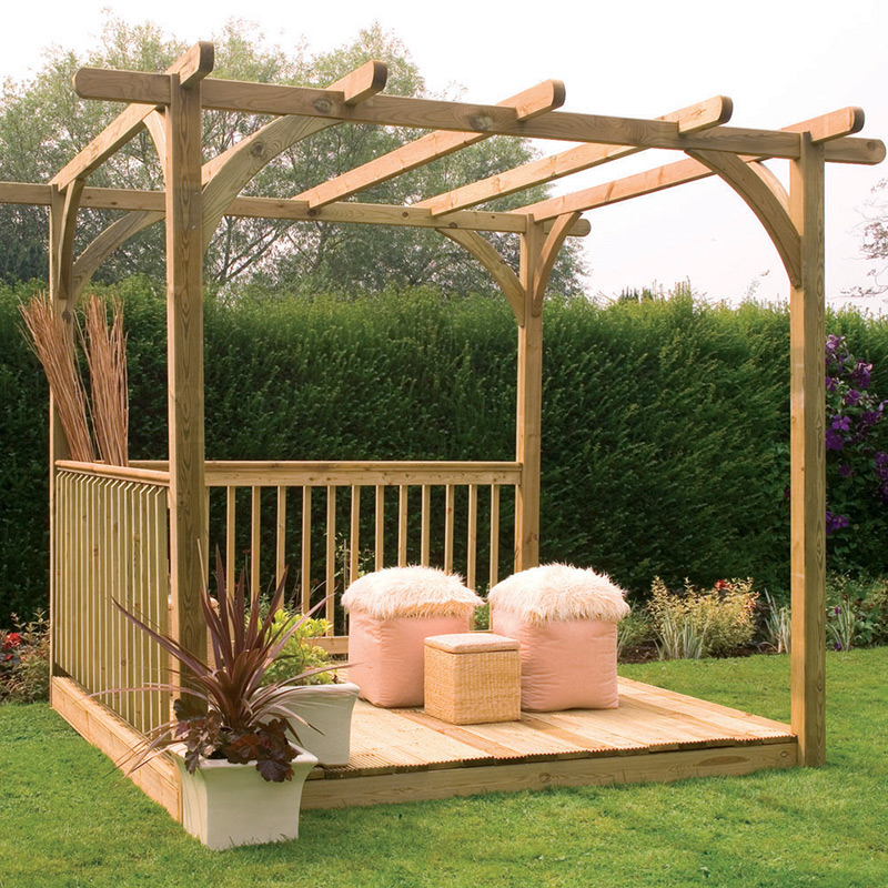 Picture of Forest Garden Ultima Pergola Deck Kit 2.4 x 2.4m
