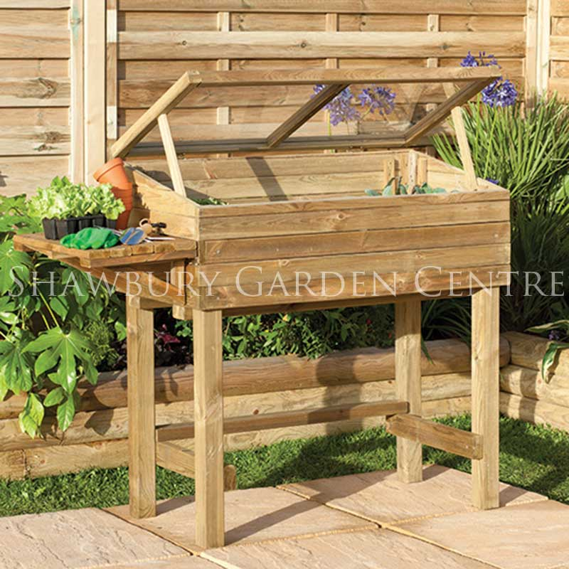 Forest Garden Trough and Cold Frame Planter - Assembled
