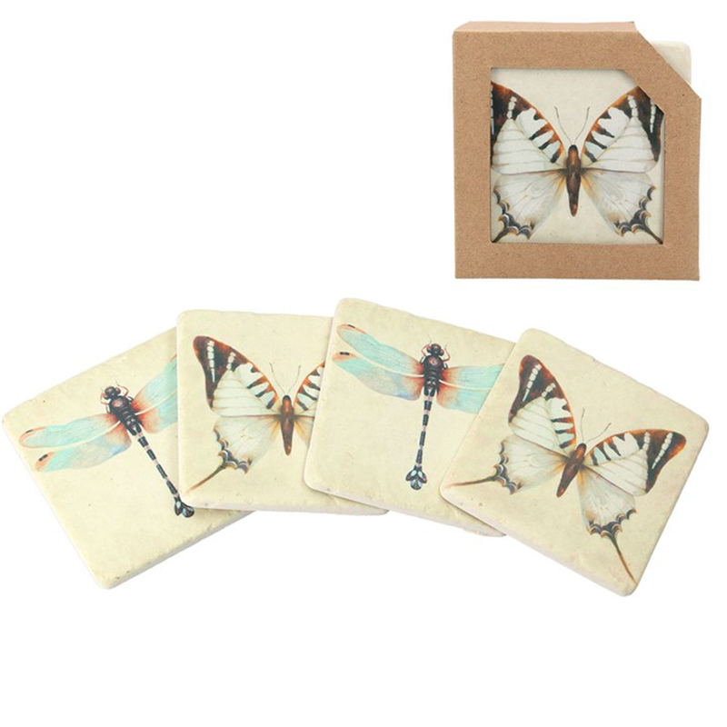Picture of Gisela Graham Butterfly/Dragonfly Coaster