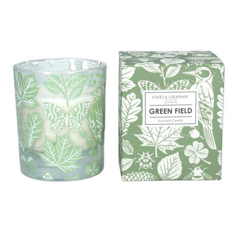 Picture of Gisela Graham Green Field Scented Boxed Candle