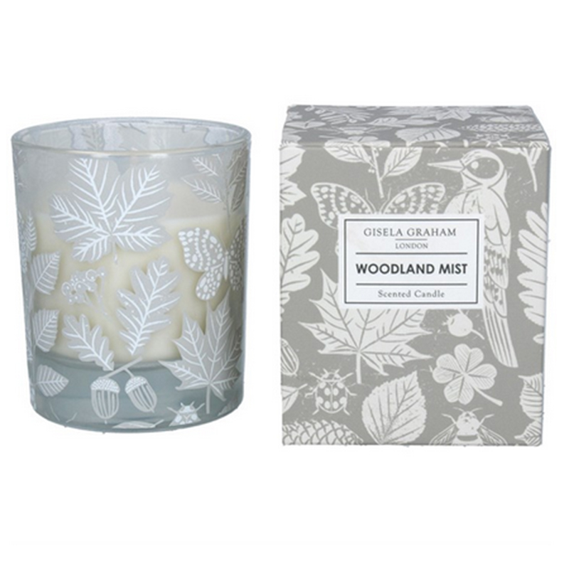 Picture of Gisela Graham Woodland Mist Scented Candle