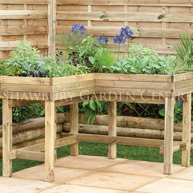 Picture of Forest Garden Corner Table Planter
