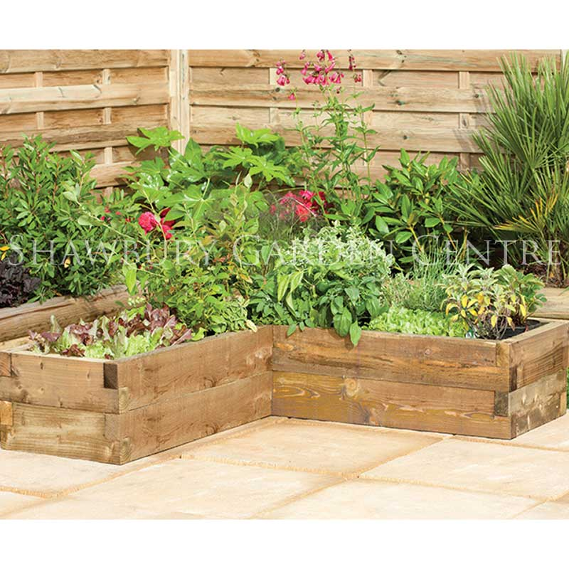 Picture of Forest Garden Caledonian Corner Raised Bed