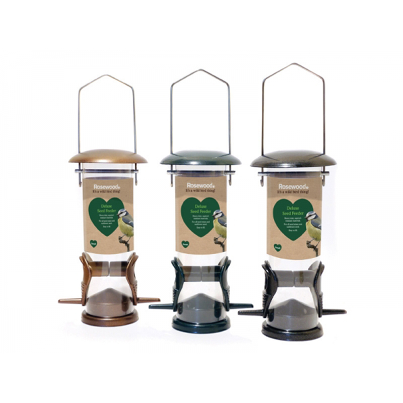 Picture of Rosewood Deluxe Seed Feeder