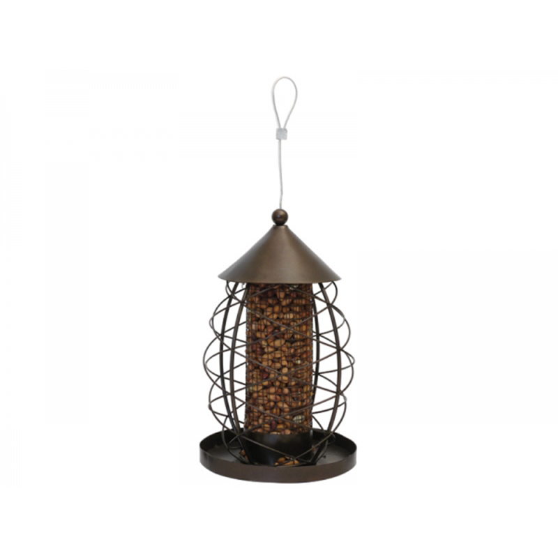 Picture of Rosewood Antique Lantern Nut Feeder