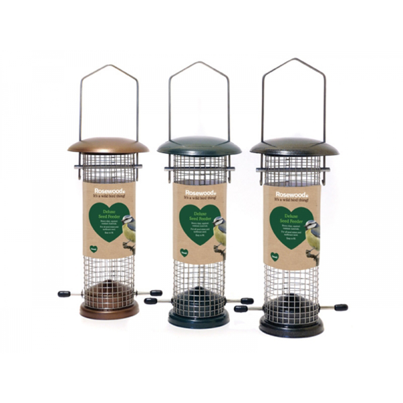 Picture of Rosewood Deluxe Nut Feeder