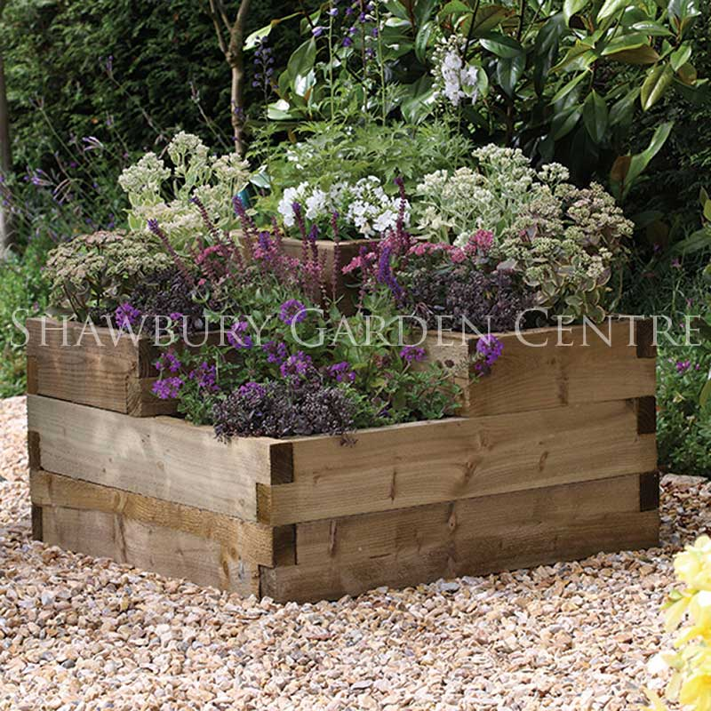 Picture of Forest Garden Caledonian Tiered Raised Bed